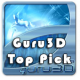 Guru 3D Top Pick Award