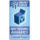 Tweak Town Award